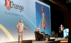 Steve Fairfax of MTechnology speaks at the 2015 7x24 Exchange Fall Conference. (Photo: Rich Miller)