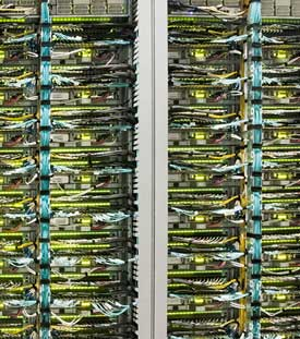 Google's Jupiter network block, which drives massive data across its network. (Image: Google)