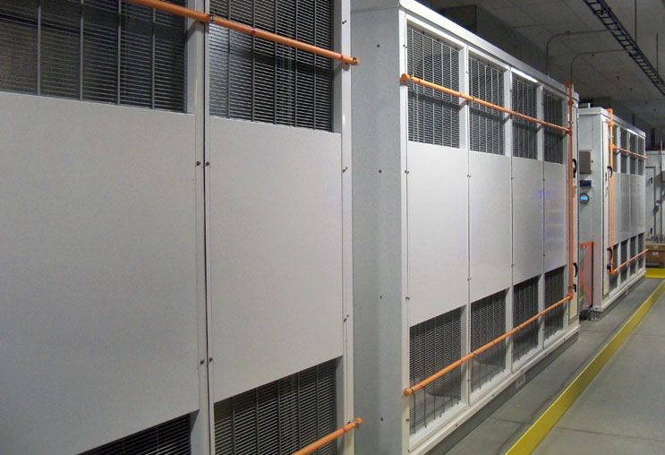 Facebook cold storage air handlers