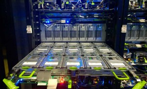 Open Compute Knox storage devices inside a Facebook data center.