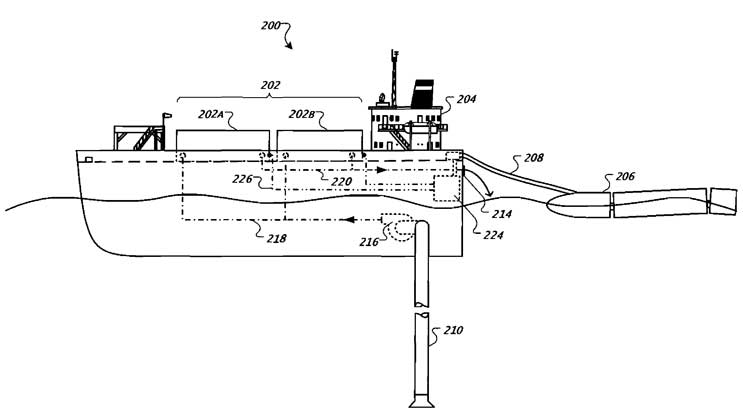 Google floating data center patent