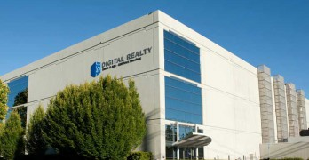 "The data center at 1100 Space Park Drive anchors the Digital Realty ""Connected Campus"" in Santa Clara. ((Image: Digital Realty)"