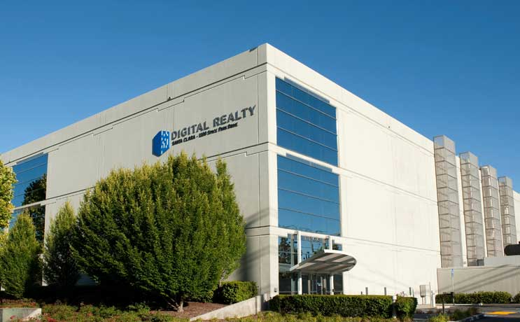 Digital Realty Building New Santa Clara Data Center