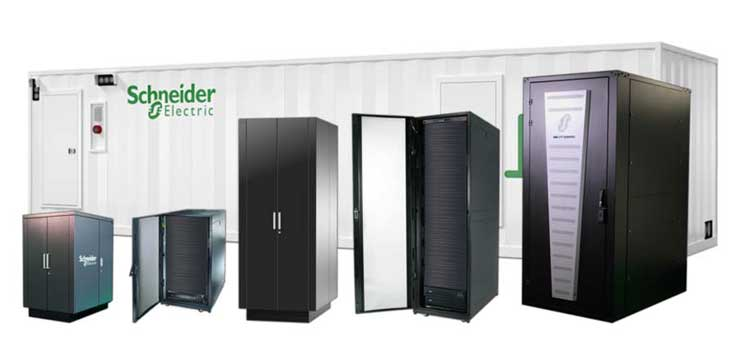 Schneider Electric modular data center products