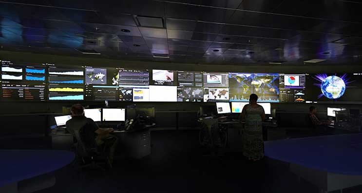 Akamai Network Operations Command Center