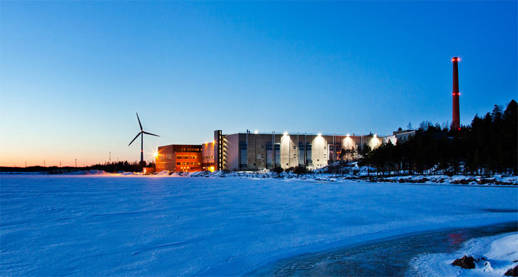 Google data center Hamina Finland