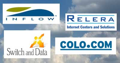 Regional data center providers 2001