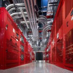 Power room at the SUPERNAP data center in Las Vegas.
