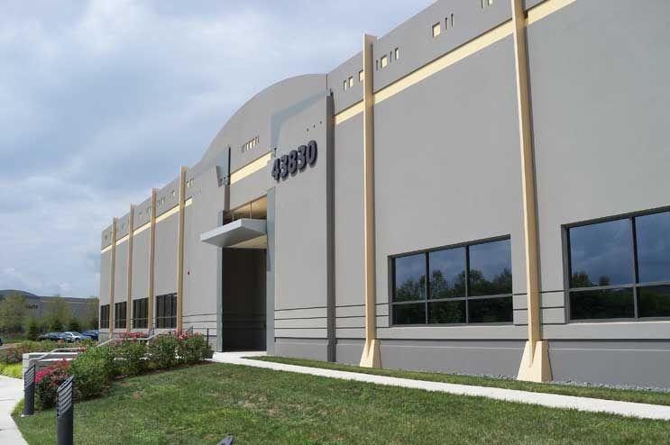 Digital Realty data center in Ashburn VA