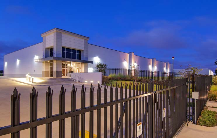 One of the Databank data center facilities in the Dallas market. (Photo: Digital Realty)