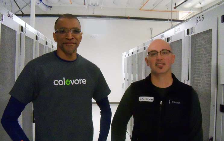 Colovore execs Peter Harrison and Sean Holknecht