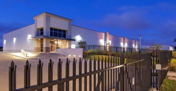 A data center at Digital Realty's Dallas campus..