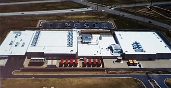 An aerial view of Oracle's Utah Compute Facility in South Jordan, Utah. (Image: Oracle Corp.)