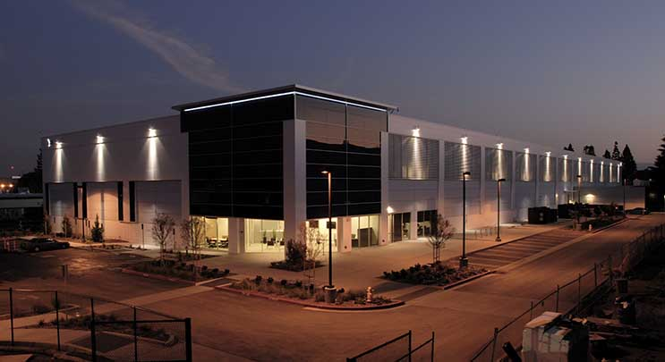 The V2 facility at the Vantage Data Centers campus in Santa Clara, Calif. (Photo: Vantage Data Centers)