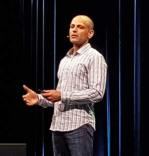 Jay Parikh, Global Head of Engingeering and Infrastructure at Facebook. (Photo: Rich Miller)