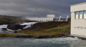 A key selling point for Verne Global is Iceland's supply of hydro power, generated by dams like this one at the Ljósafossstöð hydroelectric plant on the River Sog. (Photo: Rich Miller)