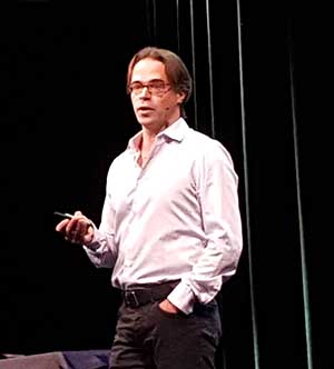 Jason Taylor, chairman of the Open Compute project.
