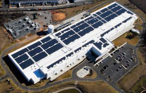 An aerial view of the QTS Data Centers facility in Piscataway, New Jersey. (Photo: DuPont Fabros)