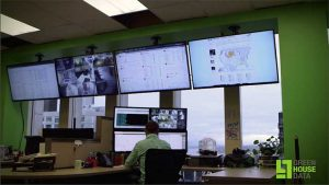 The West Coast NOC (network operating center) for Green House Data. (Photo: Green House Data)