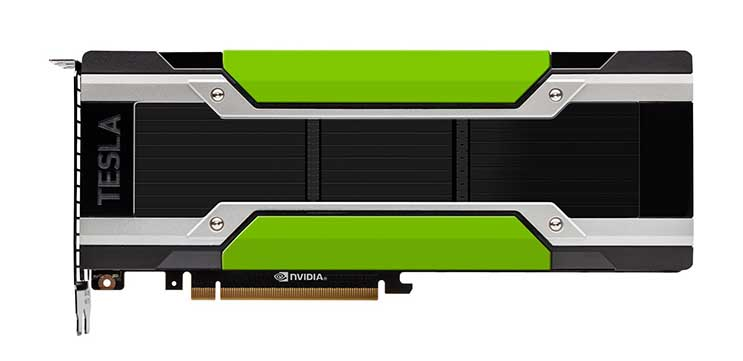 NVIDIA's Tesla P100 GPU accelerator for PCI-enabled servers. (Photo: NVIDIA)