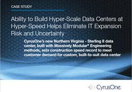 CyrusOne Hyper-Scale Data Center