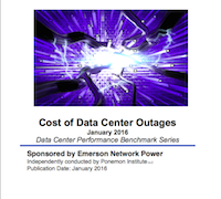 Cost of Data Center Outages