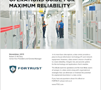 A Data Center Operations Guide for Maximum Reliability