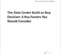 Build-or-Buy Decision: Data Centers
