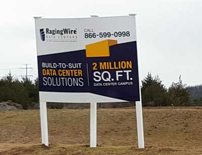 RagingWIre is among the data center companies planning major expansions in Ashburn, where it owns this 80-acre development site. (Photo: Rich Miller)