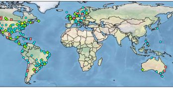 Researchers have mapped server locations across the Netflix Open Connect content distribution network. (Image: Queen Mary University)