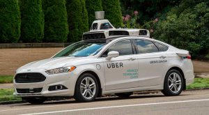 One of Uber's new self-driving cars. Uber is building out its infrastructure as its real-time data needs continue to grow. (Photo: Uber)