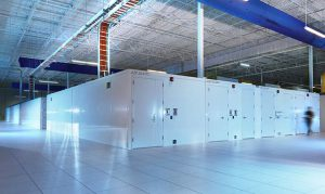 Modular data centers inside a portion of the Iron Mountain data center in Phoenix. (Photo: IO/Iron Mountain)