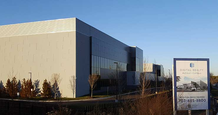 Digital Realty Trust leased 4.5 megawatts of capacity at its Digital Loudoun campus in Ashburn, Virginia. (Photo: Rich Miller)