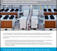 A New Approach to Cooling Changes the Chiller vs Free Cooling Conversion