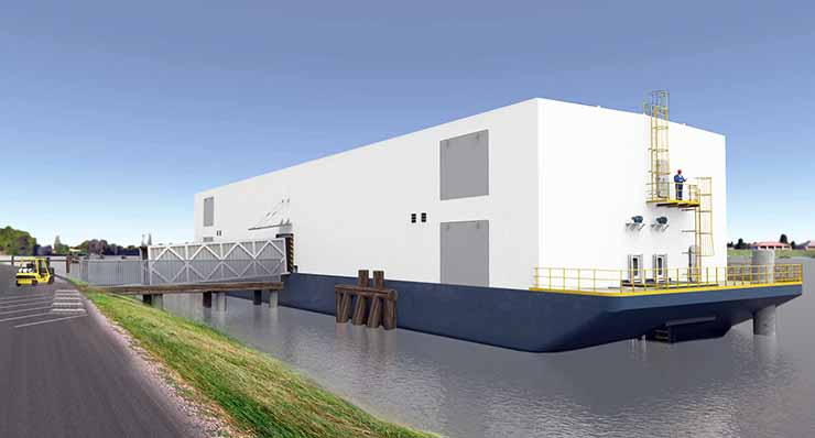 Nautilus Data Barges Ahead With Floating Data Center