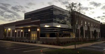 The newest Peak 10 data center in Nashville, which has a larger footprint than many earlier builds. (Photo: Peak 10)