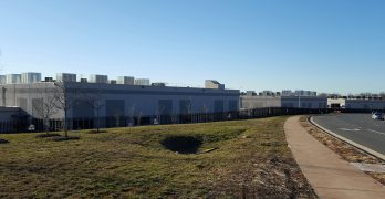 A row of three Amazon Web Services data centers in Ashburn, Virginia. (Photo: Rich Miller)