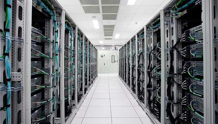 Inside a Cyxtera data center