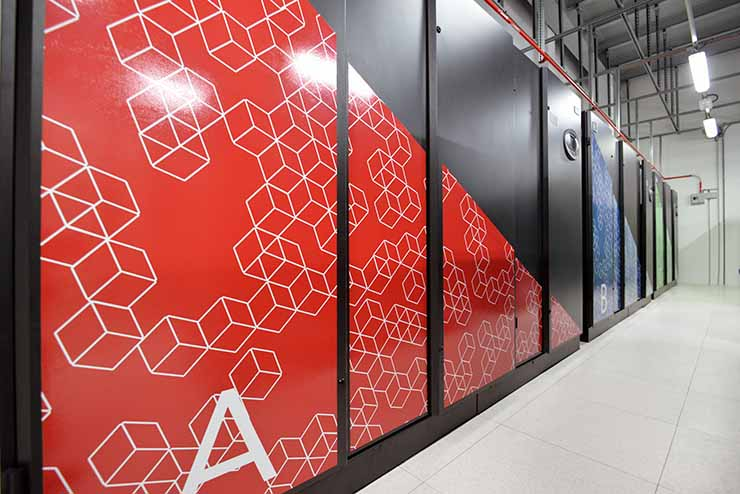 A technical room inside an ETIX Everywhere data center. (Photo: ETIX Everywhere)