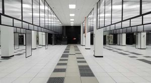 A look inside a 6 megawatt data hall in the QTS Data Centers campus near Richmond, Virginia. (Photo: Rich Miller)
