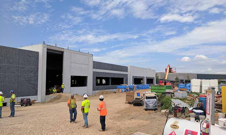 A data center project in the Minneapolis market being developed by Stream Data Centers. (Photo: Stream Data Centers)