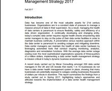 The State of Data Center Health Management Strategy