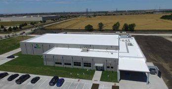 This TierPoint data center in Allen, Texasy was built by Compass Datacenters. (Photo: Compass)