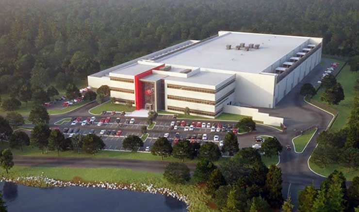QTS Data Centers has plans for a large data center on land it has purchased in Ashburn, Virginia. (Image: QTS Data Centers)