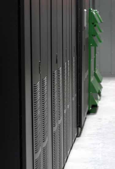 Server cabinets inside a ROOT data center near Montreal. (Photo: ROOT Data Center)