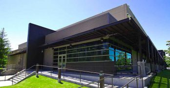 The exterior of the Centeris data center in Puyallup, Washington. (Image: Centeris)