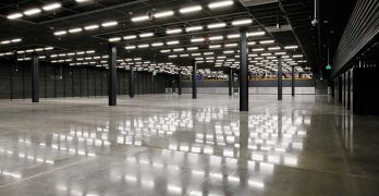 A data hall inside the new Equinix DC12 data center in Ashburn, Virginia. (Photo: Equinix)