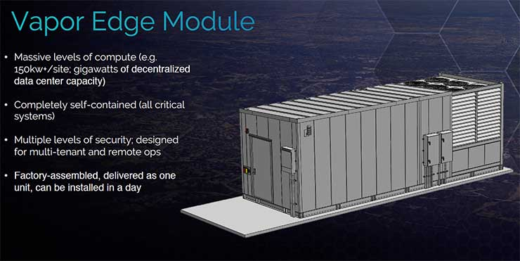 The specs for the Vapor Edge Module. (Image: Vapor IO)