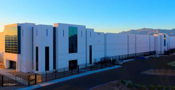 The Flexential Lone Mountain data center near Las Vegas. (Photo: Flexential)