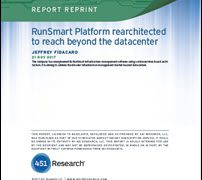 RunSmart Platform Rearchitected to Reach Beyond the Datacenter